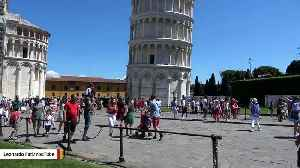 The Leaning Tower Of Pisa Is Standing A Little More Upright [Video]
