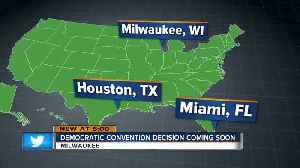 2020 DNC host-city selection expected in next two months [Video]