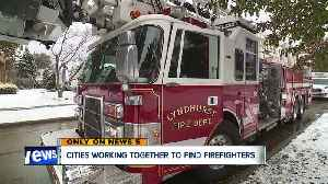 Shortage of firefighter applicants leads to five city collaboration [Video]