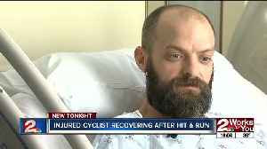Injured Tulsa cyclist recovering after hit and run [Video]