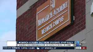 Monarch Academy Baltimore students, staff fight against recommended closure [Video]
