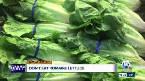 Health officials: Don't eat romaine lettuce due to a new E. coli outbreak [Video]