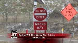 A new way to prevent wrong-way crashes [Video]