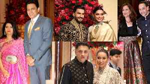 Deepika - Ranveer Reception: PV Sindhu, Anil Kumble & THESE Guests attend Party; Video | FilmiBeat [Video]