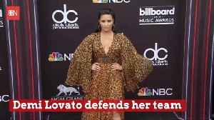 Demi Lovato Defends Her Team After Overdose [Video]