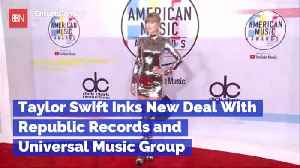 Taylor Swift Inks Big New Record Deal [Video]