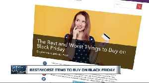 News video: What to buy and what to avoid on Black Friday