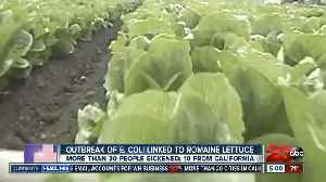 CDC issues warning of E Coli romaine lettuce outbreak [Video]