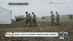 Questions rising over cost of troops on U.S., Mexico border [Video]