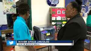 Maker Space Unveiled [Video]