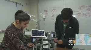 Bay Area Students Invent Firefighting Tool Of The Future [Video]