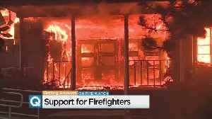 Firefighters Given Help To Cope With Devastation Of Camp Fire [Video]
