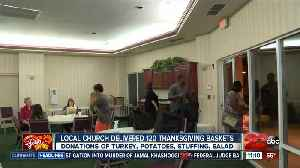 Local church gives back to the community [Video]