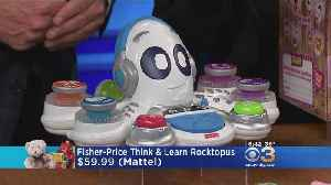 Take A Look At Some Of The Holiday Season's Hottest Toys [Video]