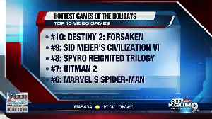 The 10 hottest games of the holidays [Video]