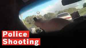 Police Officer Shoots Through Windscreen To Arrest Wanted Suspect [Video]
