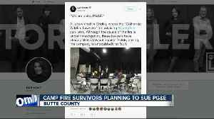 Lawsuit planned against PG&E over Camp Fire [Video]
