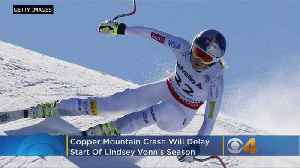 Colorado's Lindsey Vonn Injures Knee, Delays Start Of Final Season [Video]