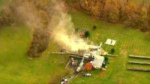 N.J. mansion fire investigated as homicide: officials [Video]