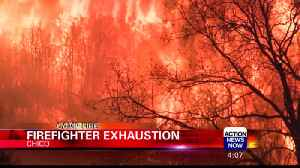 Firefighters Suffer Fatigue in Extensive Wildfire Season [Video]