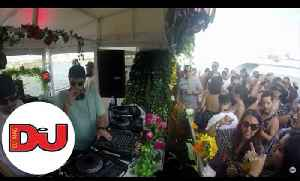Sece B2B Randall M live DJ set from Tini & The Gang Miami Boat Party [Video]