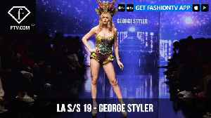 Los Angeles Fashion Week S/S 19  - Art Hearts Fashion - George Styler | FashionTV | FTV [Video]
