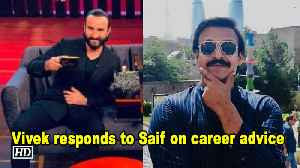 Vivek responds to Saif on career advice [Video]
