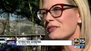 Senator-elect Sinema in the Valley for the holidays [Video]