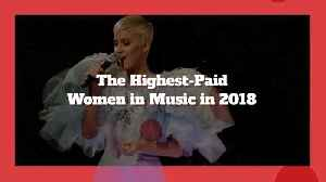 Who Are The Highest Paid Women In Music [Video]