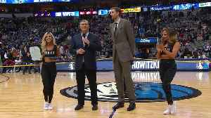Mavericks Legend Dirk Nowitzki Receives Key To The City [Video]