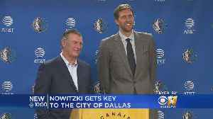Nowtizki, Rawlings Joke About 'Perks' With Key To City [Video]
