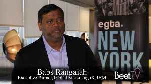 Could Blockchain Track TV Content? IBM's Rangaiah Thinks So [Video]