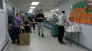 St. Pats gets ready to serve Thanksgiving dinner [Video]