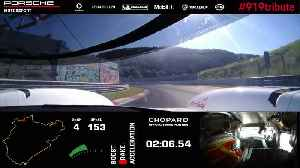 The fastest Friday ever - Nordschleife record with the Porsche 919 Hybrid Evo [Video]