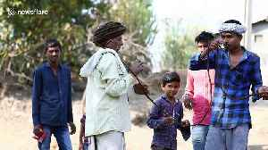 Indian man shows off his hair in enormous 15-metre long dreadlock [Video]