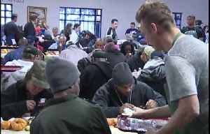 Catholic Charities holds annual Thanksgiving feast in Las Vegas [Video]