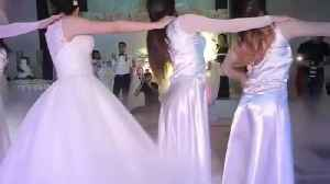 Wedding tradition dance in some wedding's party [Video]