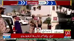 Three 'suicide attackers' storm Chinese consulate in Pakistan [Video]