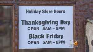 Shoppers Don't Wait Until Black Friday To Hit The Stores [Video]