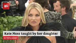 Kate Moss Is Getting Fashion Tips From Her Daughter [Video]