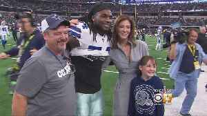 Cowboys Show Appreciation To Family Who Attended Game Despite Losing Home In California Wildfire [Video]