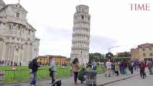 The Leaning Tower of Pisa Is Leaning a Little Less Now, Engineers Say [Video]