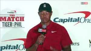 Mickelson: I can't lose to Tiger [Video]