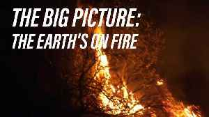 News video: Does California's wildfire point to a global warning?