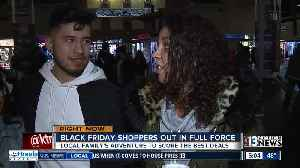 People start shopping early on Black Friday [Video]