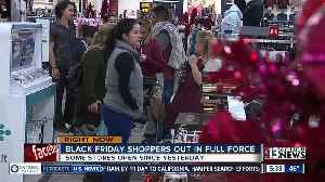 Some stores open Thanksgiving for shopping [Video]