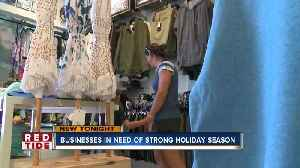 Beach businesses desperate for a strong holiday shopping season [Video]