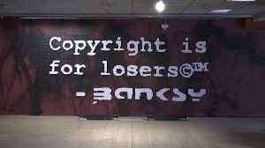 Brussels: Banksy artworks seized in legal action [Video]