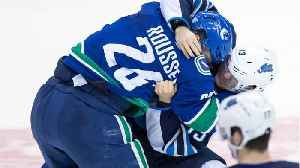 Roussel Fined For Biting Marc-Edouard Vlasic [Video]