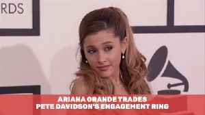 Ariana Grande Trades Her Engagement Ring [Video]